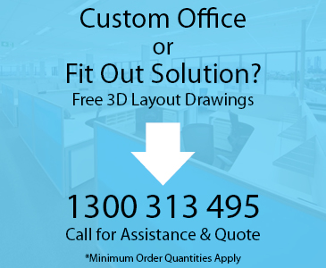 Custom Office Fitouts available